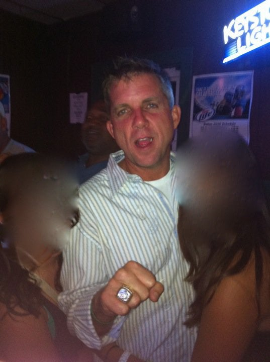 Sean Payton Is Still Drunk, Still Has A Super Bowl Ring
