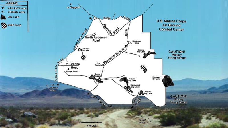 Congressman Saves California OHV Area From Military Takeover