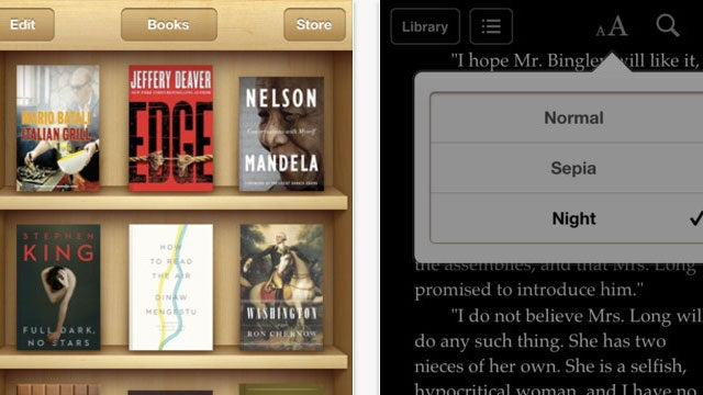 Apple Updates iBook to Add Night Mode, New Themes and Fonts