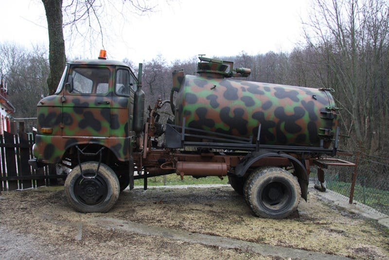 I Shit You Not, My Uncle Got This East-German Vacuum Truck For $880