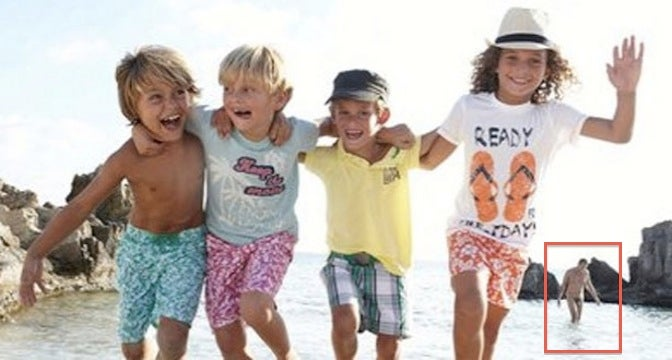 French Children's Fashion Ad Features Kids, Penis [NSFW]