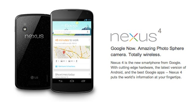 T-Mobile Will Sell the Sold Out Nexus 4 for 200 Bucks Tomorrow