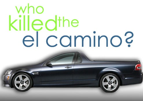 Pontiac G8 ST Officially Dead: GM Kills El Camino...Again