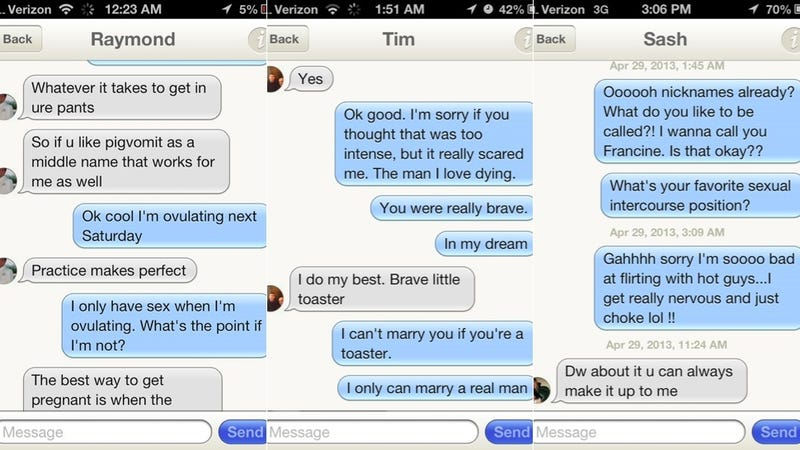 Mobile Dating App Brings Out the Crazy in Dudes