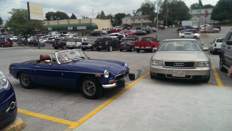 My car is making friends again.