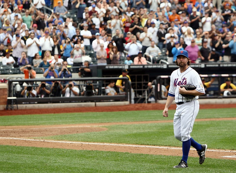 Here's R.A Dickey's Farewell Letter, In Case Any Mets Fans Were In The Mood For A Good Cry
