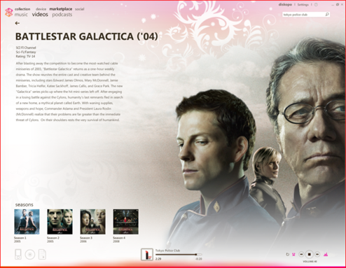 Zune Marketplace Adds a Bunch of TV Shows