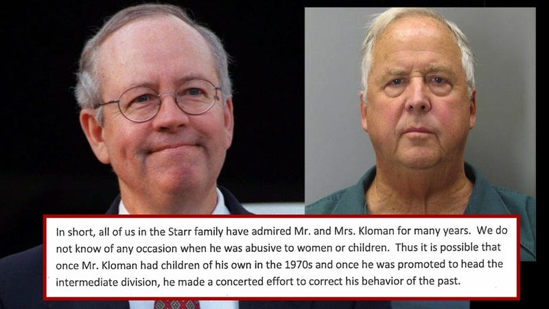 """He Took the Time to Chat"": Ken Starr's Plea for a Child Molester"