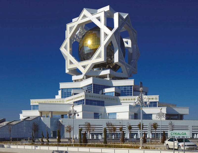 Turkmenistan's Astonishing Attempt To Build A City Of The Future