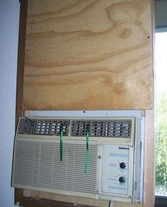 Mount a Standard Air Conditioner in a Horizontally-Sliding Window