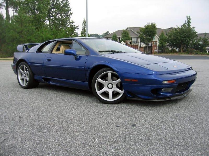 Have a blue Lotus Esprit, Oppo