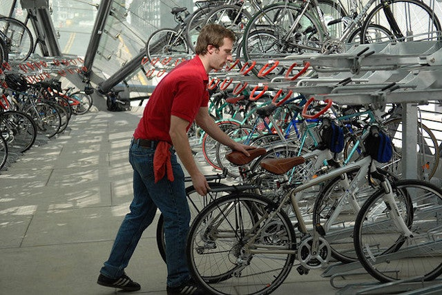 How More Bike Parking Could Make Cities Better For Everyone