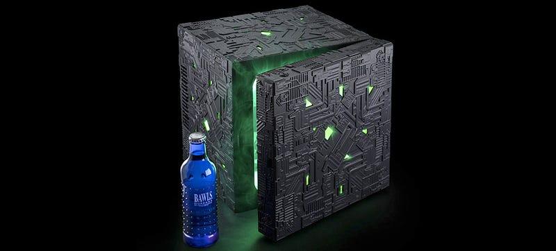 Borg Cube Mini-Fridge: Freezistance Is Futile