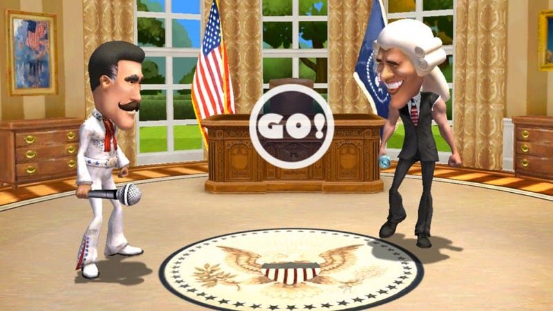 Barack Obama and Mitt Romney Battle It Out In Their Very Own Violent Video Game