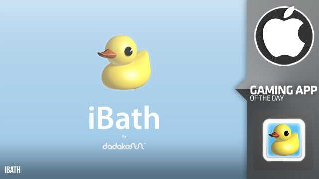 Is Rubber Ducky the One in iBath?