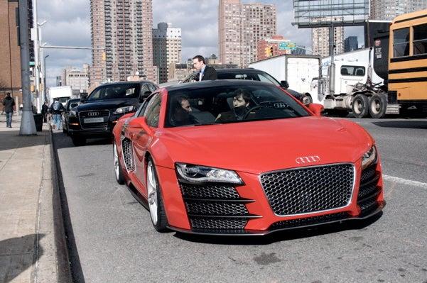 Audi R8 V12 TDI Le Mans Diesel Prototype