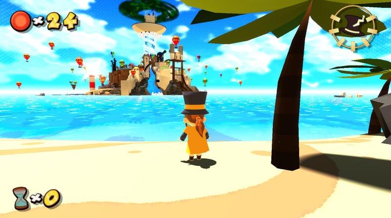 It Looks Like Wind Waker and Plays Like Super Mario 64. Fantastic.