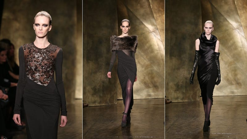 Donna Karan, for the Depressed Vampire in You
