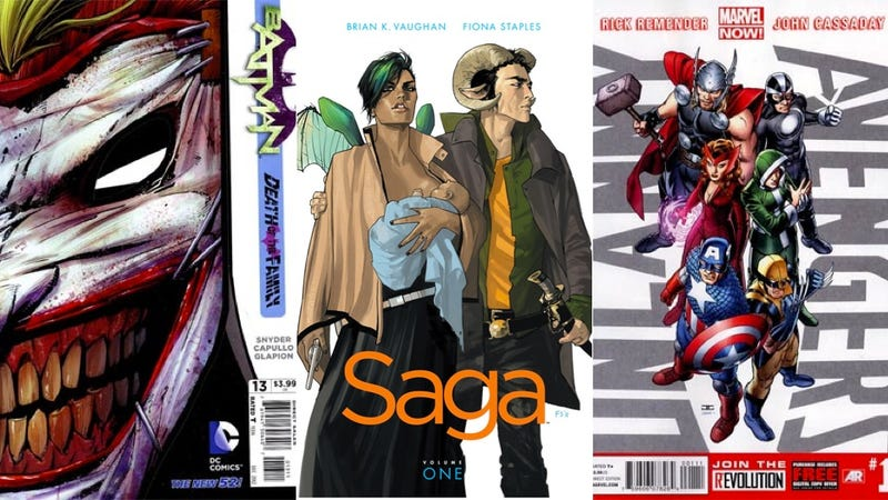 Four Comics That Mix Things Up This Week