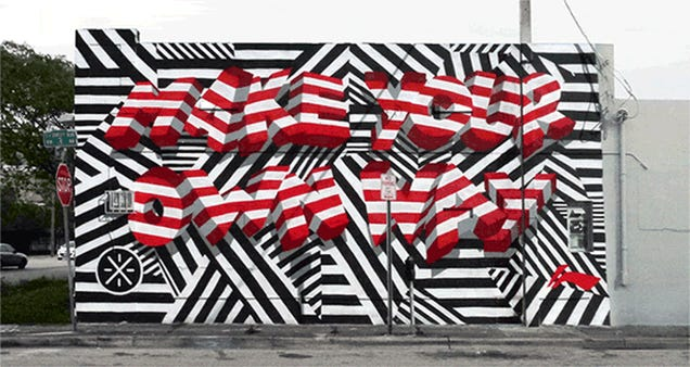 13 Hand-Painted Murals Brought to Life as Animated GIFs