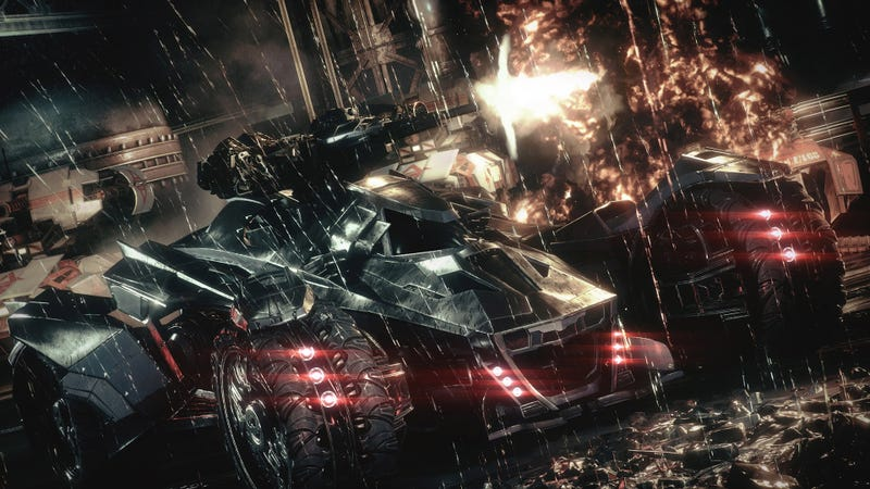 I Think I'd Like a Little Less Batmobile in Arkham Knight