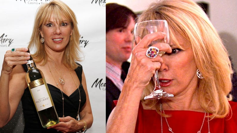 Ramona Singer Pinot Grigio Will Make You Feel Like Ramona Singer