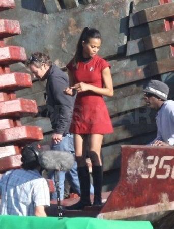 Star Trek 2 Set Photos