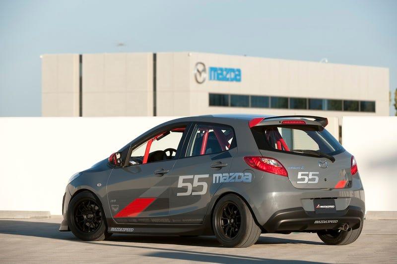 Mazda Drops A 500-HP Mazda3 On Las Vegas