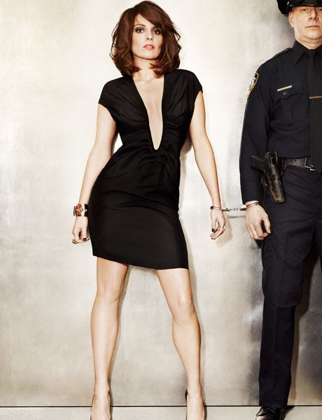 Tina Fey Pulls Off The Relatable-Sex-Goddess Thing