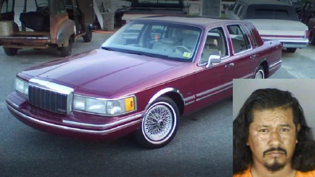 Florida Police Found An Alleged Murderer Sleeping In A Purple Lincoln With A Bag Of Coke On His Lap