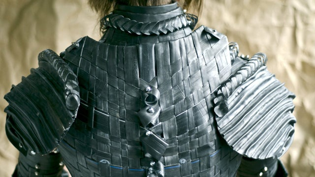 How To Make Your Own Joan Of Arc Armor Using Bike Tire Tubes