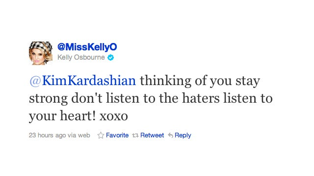 Twitter, Where Every Celebrity Can Rant About The Kardashian Divorce