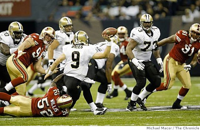 Your NFL Playoffs Divisional Round Open Thread: New Orleans Saints at San Francisco 49ers