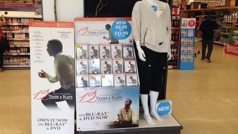 British Supermarket Very Sorry for Its 12 Years a Slave Mannequin