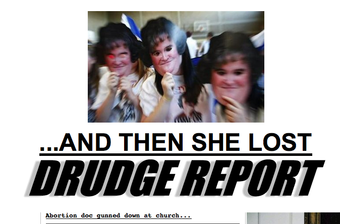 Drudge Would Rather Not Dwell on Right-Wing Terrorism