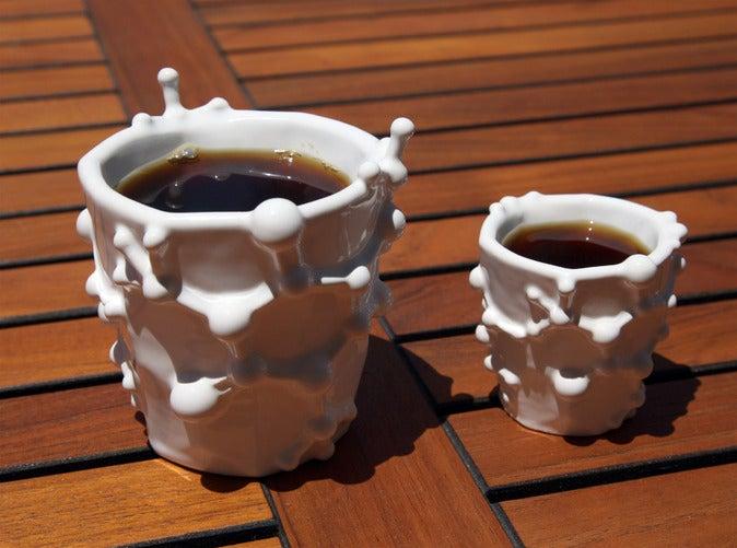 Molecular coffee & espresso mugs let you drink caffeine from caffeine
