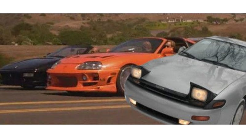 This 'Paul Walker Edition' 1991 Celica Is Fast As Well As Furious