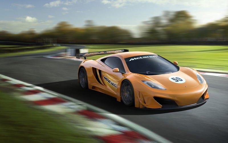 McLaren Teases MP4-12C GT Racecar