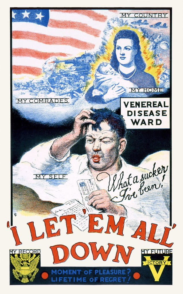 The Penis Propaganda That Warned WWII-Era Soldiers of Venereal Disease