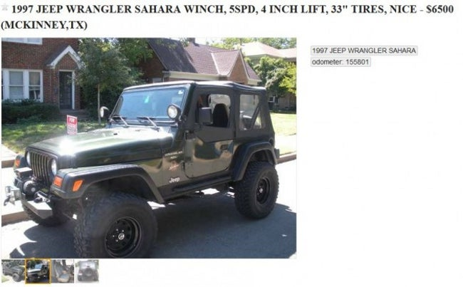 Yet Another Epic Craigslist Ad