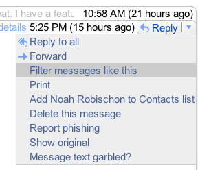 Easily Filter Messages in Gmail