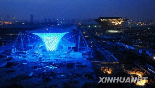 Gigantic LED Funnels Will Light Up 2010 Expo, Suck Rain, Spacetime Continuum