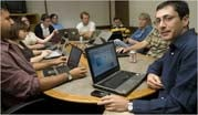 Laptops in Meetings a Double-Edged Sword