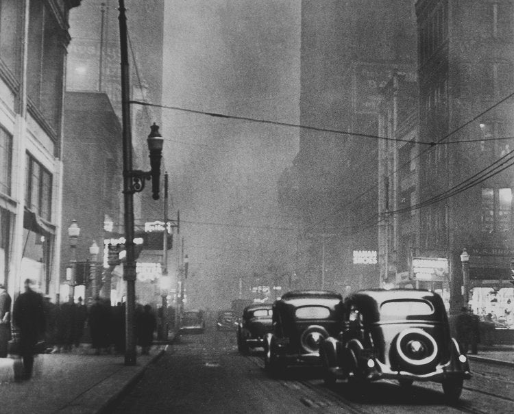 Before environmental regulations, Pittsburgh looked like the capital of Hell