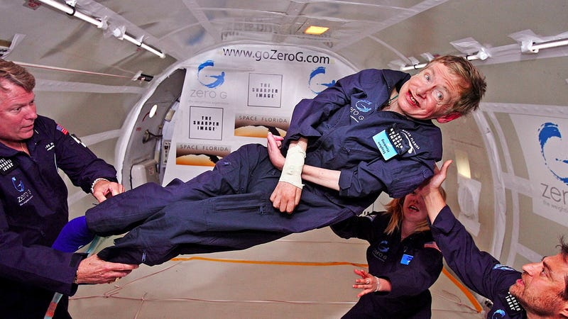 Stephen Hawking Doesn't Think the Higgs Boson Is Interesting Enough