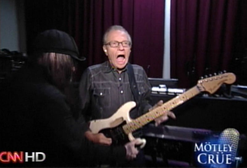 Prince William Pitches A Tent • Larry King Rocks Out