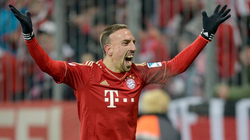 Crazed Fan Talks His Way Into Bayern Munich Locker Room, Demands To Know Why Franck Ribery Doesn't Have His Dog