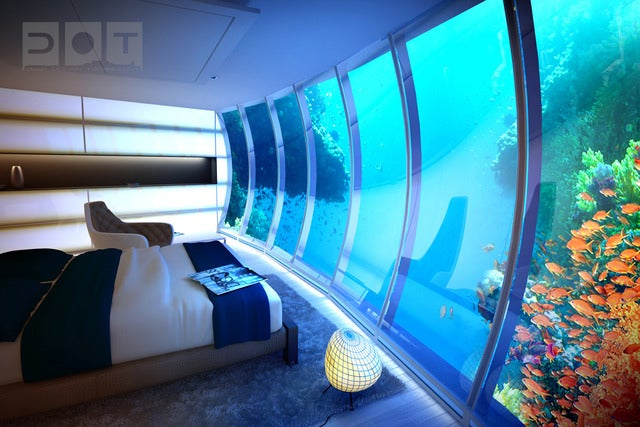 Future Dubai Hotel Will Sit 21 Stories Underwater