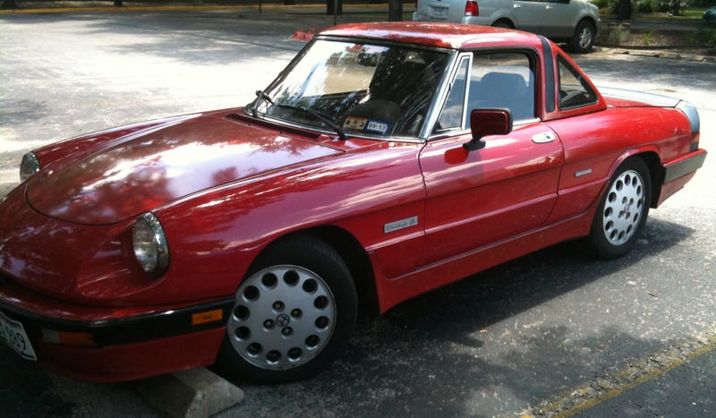 An Alfa Romeo Spider Quadrifoglio Isn't A Drag