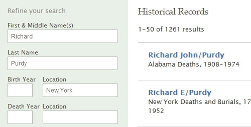 FamilySearch Beta Finds Historical Records on Your Family